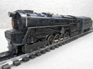 Lionel Trains Diecast Smoking Turbine Steam Train Engine 681 Tender Set