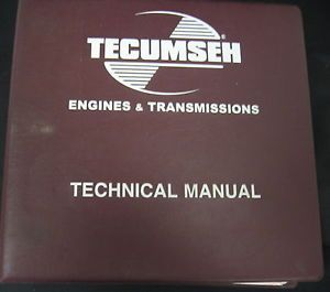 Tecumseh Engines Transmissions Technical Manual