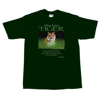 Advice from A Tiger Wild Animal T Shirt XXL New