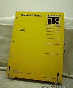 Thermo King Bus Air Conditioning AT6 Maintenance Manual