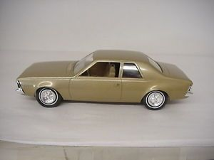 Vintage 1970 AMC Hornet 2 Door Dealer Promo Model Car Johan Superb Condition