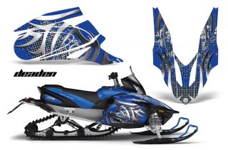 Yamaha Apex Graphic Sticker Kit AMR Racing Snowmobile Sled Wrap Decal 06 11 Dead