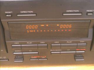 Yamaha Natural Sound Dual Cassette Deck KX W321