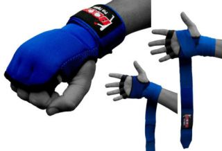 Boom Pro Gel Gloves Hand Wraps MMA Boxing UFC Punch Bag Training Gloves