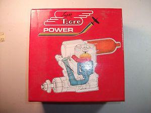 Old Super Tigre GS 40 Ring R C Eco Model Airplane Engine Box