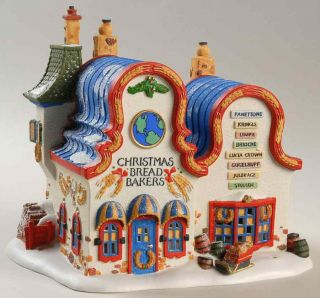 Department 56 North Pole Village Christmas Bread Makers