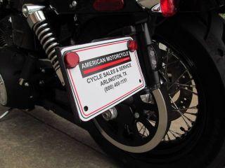 2013 Harley Davidson Dyna Wide Glide ABS Security Black