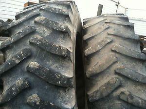 18 4 R 42 Firestone 23 Degree Radial Tires Case IH John Deere Tractor Pull 20