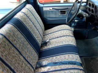 Full Size Truck Bench Seat Cover Saddle Blanket Tan