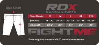 RDX Boxing Trunk MMA Grappling Kick Martial Art Muay Thai Shorts Fight Men UFC U
