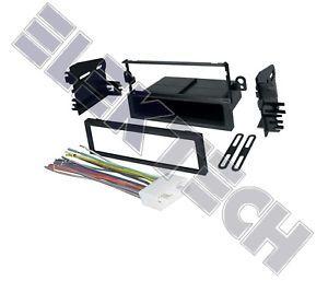 Chevy Aveo Radio Stereo Dash Mounting Kit w Harness
