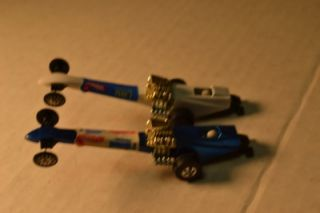 Hot Wheels 2 Fuel Dragsters Don Prudhomme The Snake I Tom McEwen Mongoose I