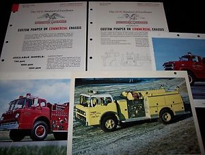 American LaFrance Ford Commercial Chassis Aerial Ladder Pics Fire Engine Truck