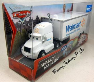 Disney Pixar Cars 2  Wally Semi Hauler Diecast Toy Mack Truck New 2012