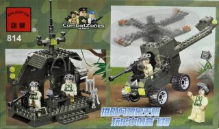 Army Army Armored Battle Truck Minifigures Military Building Block Brick Set ABS
