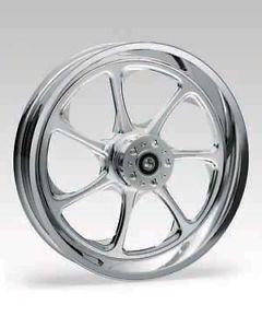 Revtech Eliminator Custom Mag Wheel Harley 21 x 2 15 Chrome Softail Dyna Sports
