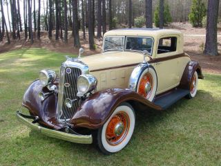 1933 Chrysler Royal Eight Ct Business Coupe