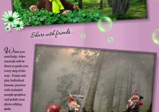 Magical Woods Digital Backgrounds Backdrops Green Screen Muslin Chroma Key New