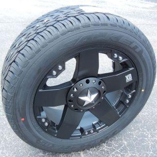 "20"" XD Rockstar Wheels Falken STZ 05 Tires Dodge RAM 1500 Durango Dakota Tundra"