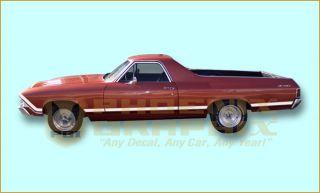 1968 Chevrolet El Camino SS Super Sport Decals Stripes Kit