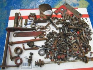 Wheel Horse Tractor Charger 10 12 Parts Lot Hardware A344
