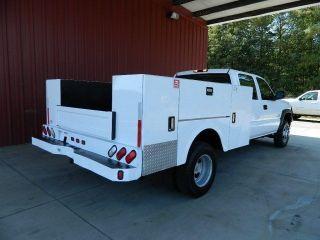 W T Duramax Diesel 6 6L Allison Transmission Crew Cab Utility Bed