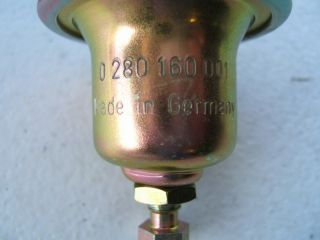 New Bosch 0280160001 Fuel Pressure Regulator Made in Germany
