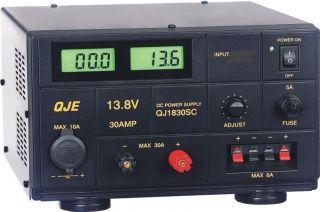 New QJE QJ1830SB 30 Amp Linear DC Power Supply Ham Radio CB