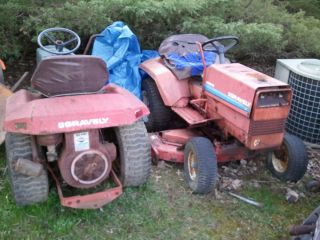 2 Gravely Lawn Tractors