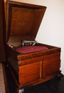 Victor Talking Machine Co Victrola 1916 VV IX Phonograph Table Top