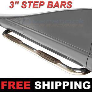 truck champ nerf bar step pad kit