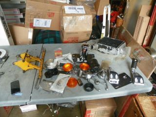 Harley Ironhead Sportster Dyna Touring Parts Lot Turn Signals Dyna Mid Control