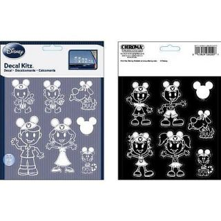 14 Piece Window Decal Sticker Set Car SUV Stick Family Mickey Mouse Ears