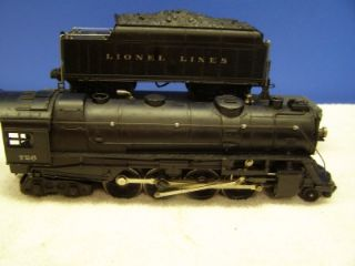 Lionel 726 Engine 2426W Tender Excellent No Res 1946 Model Smoke Bulb
