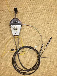 Mercury Binnacle Remote Top Mount Control Shifter Cables Wiring Harness