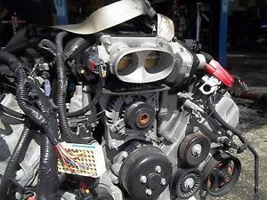 2008 2009 2010 Ford Mustang GT 4 6L Engine Transmission Swap w Accessories V8