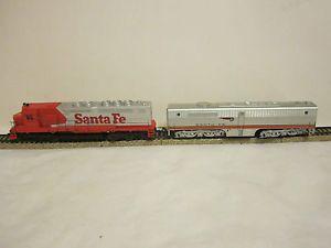Vintage Ahern HO Scale Toy Train Engine Tender Santa FE 363