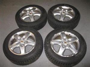 Porsche Cayenne Audi Q7 Rim Wheel Set Nokian Hakkapeliitta 235 60R18 Snow Tires