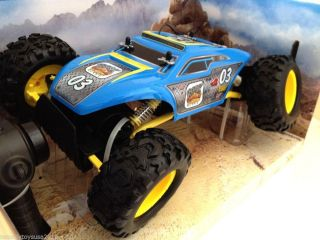 Remote Control Maisto Triband Off Road Rock Crawler Extreme 2014 Sky Blue Color