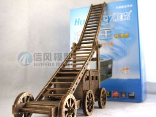 RARE 1 72 Ancient Wars Classic Siege Engines Wooden Model Kits Toy Collectibles