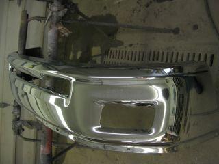 2010 2012 Dodge RAM 1500 Truck Front Bumper Used OEM Fog Holes Chrome