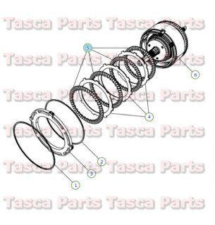 Automatic Transmission Clutch Plate Dodge Chrysler Jeep Plymouth 4531678AB
