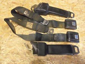 Black Seat Belts 67 72 Chevy GMC Truck
