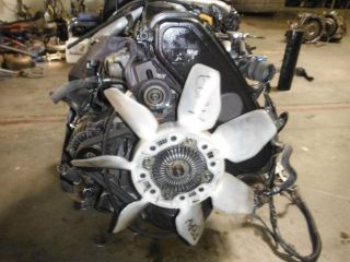 Toyota Tacoma Land Cuiser 4Runner Hilux JDM 1KZ TE Turbo Diesel Engine 1KZTE