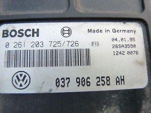 1995 Volkswagen Cabrio Convertible ECU ECM Engine Computer 0 261 203 725 726