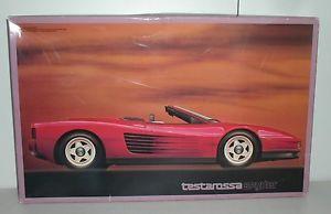 Fujimi 1 16 Ferrari Testarossa Spyder Convertible Model Kit