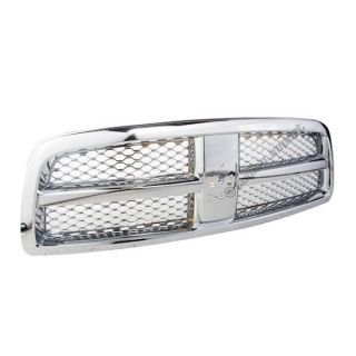 Front Grille CH1200326 Honey Comb Mesh 2009 2012 Dodge RAM 1500 Chrome Code MF1
