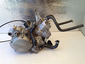 2002 04 Honda CR125 CR 125 R Complete Engine Motor Kart Cable