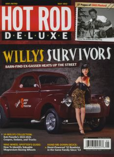 Hot Rod Deluxe Magazine May 2012 Willys Gasser Rat Street Old School Ed Roth