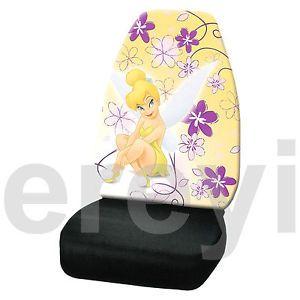 1 Tink Spring Flower Fairy Car Seat Cover Auto Truck Flirty Tinker Bell Disney